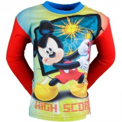 T SHIRT ENFANT DISNEY MICKEY ROUGE