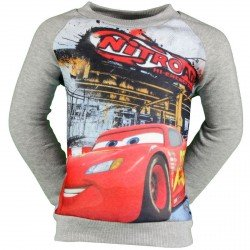 SWEAT SHIRT DISNEY CARS GRIS