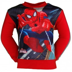 PULL / SWEAT SHIRT SPIDERMAN ROUGE
