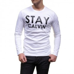 T SHIRT CALVIN KLEIN J3IJ302983 BLANC