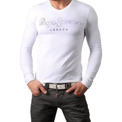 T SHIRT PEPE JEANS 501596 BLANC