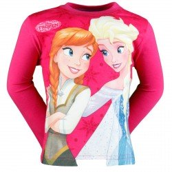 T SHIRT DISNEY REINE DES NEIGES ROSE