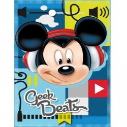 COUVERTURE POLAIRE ENFANT DISNEY MICKEY GEEK 100 X 140 CM