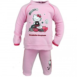 JOGGING BEBE HELLO KITTY ROSE CLAIR