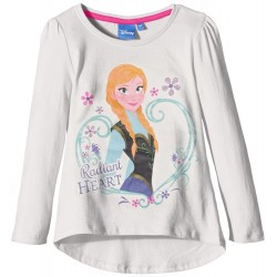 T SHIRT DISNEY REINE DES NEIGES BLANC