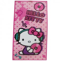 SERVIETTE DE PLAGE HELLO KITTY 70 X 140 CM