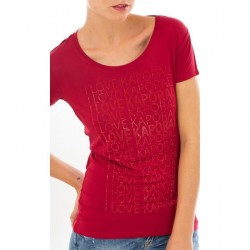 T SHIRT KAPORAL MASSH BORDEAUX