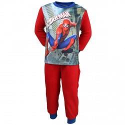 PYJAMA POLAIRE ENFANT MARVEL SPIDERMAN ROUGE