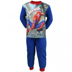 PYJAMA POLAIRE ENFANT MARVEL SPIDERMAN BLEU