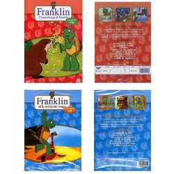 LOT DE 2 DVD ENFANT SERIE TV FRANKLIN SOIT 15 EPISODES DIFFERENTS
