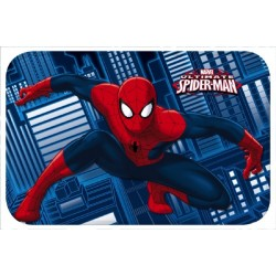 TAPIS DE SOL ENFANT MARVEL SPIDERMAN BLEU 40 X 60 CM