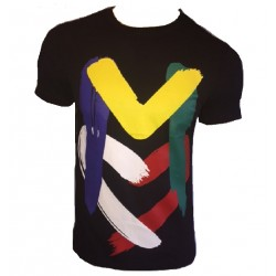 T SHIRT LOVE MOSCHINO NOIR M COLORS