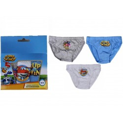 LOT DE 3 CULOTTES SLIPS ENFANT SUPER WINGS