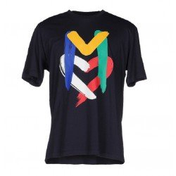 T SHIRT LOVE MOSCHINO BLEU M COLORS