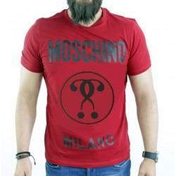 T SHIRT LOVE MOSCHINO MILANO ROUGE
