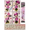 KIT DE 26 STICKERS DISNEY MINNIE