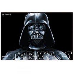 TAPIS DE SOL ENFANT DISNEY STAR WARS NOIR 40 X 60 CM