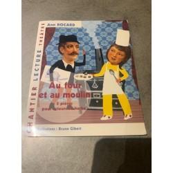 livre atelier lecture enfant 5 pièces de théâtre : au four et au moulin